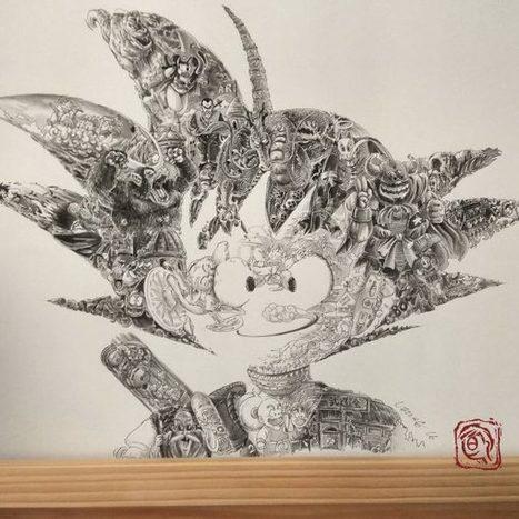 Cet artiste hong-kongais réalise un hommage époustouflant à Dragon Ball | Creativ Focus | Scoop.it