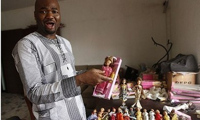 "Barbie who? Nigeria's ""Queens of Africa"" dolls take on US toymaker Mattel 
