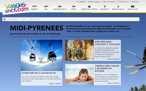 Contenu : Voyages-SNCF.com donne la paroles aux destinations | Tourisme, culture et NTIC | Scoop.it