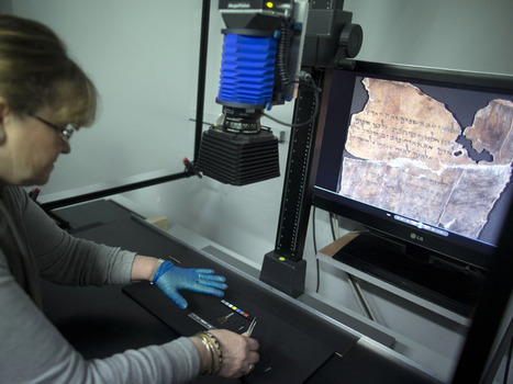 Online Dead Sea Scrolls library launched   Archaeology News   Scoop.it