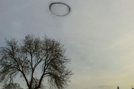 'It was just floating there like a cloud': Schoolgirl takes picture of 'black ... - Mirror.co.uk | Paranormal | Scoop.it
