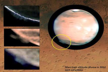 Wassereis oder Kohlendioxid – Astronomen sichten Riesige Mars-Wolken | AboutBC - Cultura y Ciencia | Scoop.it