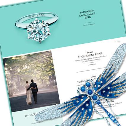 "New-look Tiffany website adds some ""wow"" - Jeweller Magazine | digital jewelry jewellrey | Scoop.it"