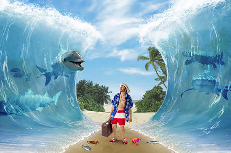 Create a Surreal Beach Themed Photomanipulation in Photoshop | The Official Photoshop Roadmap Journal | Scoop.it