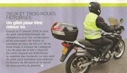 Dispositif rétroréfléchissant pour les motards, C'EST FINI !!! | La moto au quotidien | Scoop.it