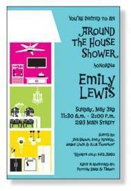 BUY AROUND THE HOUSE SHOWER INVITATIONS CARD | Shop for Home | Scoop.it