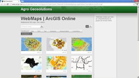 Compartilhe sua Galeria de WebMaps por meio do ArcGIS Online | Geoflorestas | Scoop.it