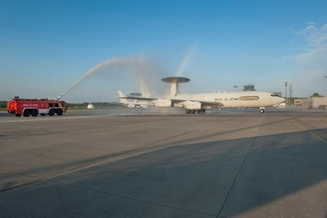 First NATO E-3A AWACS retires from active service | Aerospace industry watch - Paris Air Show | Scoop.it