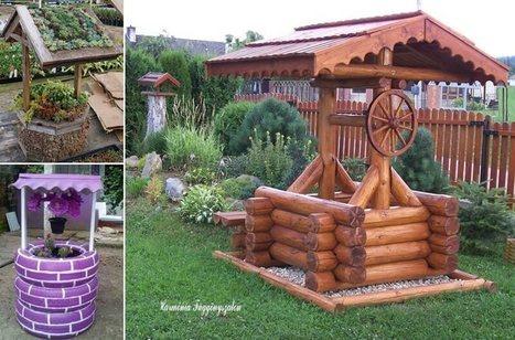 10 Creative Garden Wishing Well Ideas for Your Home | Amazing interior design | Scoop.it
