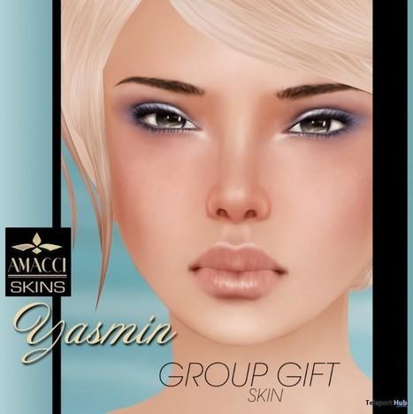 Yasmine Skin Group Gift by AMACCI | Teleport Hub - Second Life Freebies | Second Life Freebies | Scoop.it