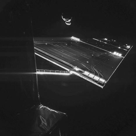 GP-Rosetta et Philae : un selfie devant la comète - CNES | Mars et astronomie | Scoop.it