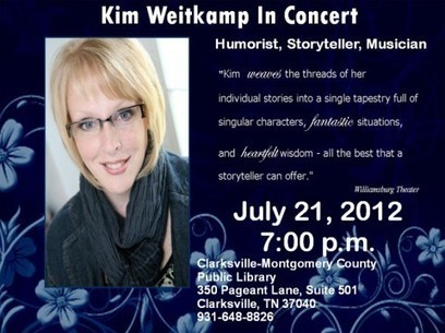Kim Weitkamp in Concert at the Clarksville-Montgomery County Public Library » Clarksville, TN Online | Tennessee Libraries | Scoop.it