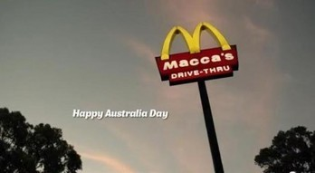 Aussie Mcdonald's rebrand as 'Macca's' in Australia Day promotion - Australian Times | Branding Online | Scoop.it