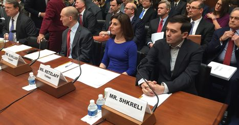 Martin Shkreli pleads the Fifth, then tweets about 'imbeciles' in Congress | Executive Coaching Growth | Scoop.it