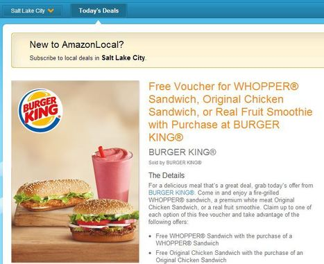 It's back 2 days only ~ BURGER KING COUPONS, CHICKEN ... | Saving Money and Being Frugal | Scoop.it