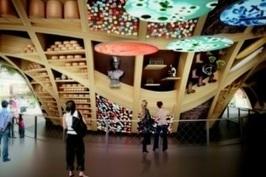 L'enseigne Roche Bobois, mécène du Pavillon France de l'Exposition Universelle - France   Cuisine - Actus food   Scoop.it