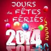 2014, fêtes et jours fériés, vacances et ponts en vues :) - Dwizer Web Booster | Culture, tendances, écologie, high Tech | Scoop.it