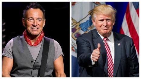Pour Bruce Springsteen, Donald Trump est un «abruti» qui fait «honte» aux États-Unis - le Figaro | Bruce Springsteen | Scoop.it