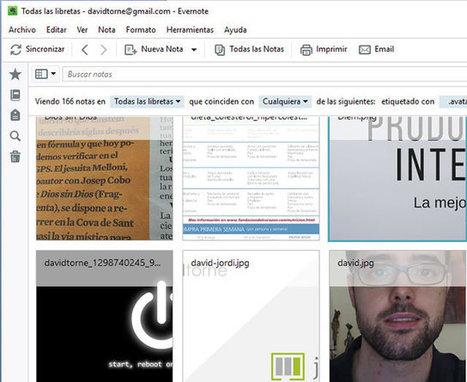 Evernote y ergonomía. Personaliza tu aplicación   David Torné 2.0   Productivity   Scoop.it