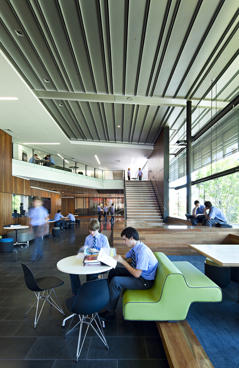 School. Libraries without walls: when students become the core design consideration | Library learning spaces | Scoop.it
