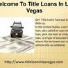 Title Loan In Las Vegas