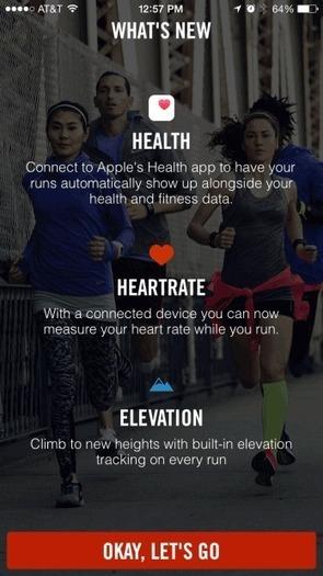 Nike+ Running ondersteunt nu HealthKit en Apple's Gezondheid-app - iCulture | hardlopen | Scoop.it