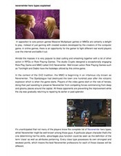 About Class Types Inside the Video Game Neverwinter | Game Playing Guide Lines Site | Scoop.it