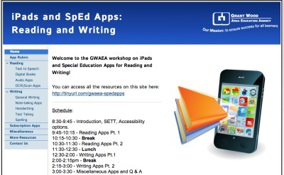 iPad SpEd Apps for Reading andWriting | I Pad Education | Scoop.it