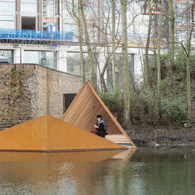 AOR's floating Viewpoint offers glimpses of London canal-side wildlife | Social Psychology, Environnment, Design | Scoop.it