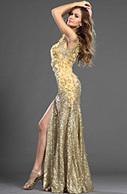 [EUR 1499,99] eDressit 2013 S/S Fashion Show Dorée Brillante Robe de Soirée (F00130124) | Fashion Show | Scoop.it