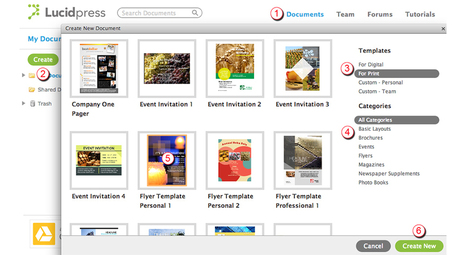 Lucidpress Tutorials | Apps | Scoop.it