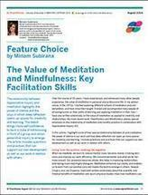 The Value of Meditation and Mindfulness: Key Facilitation Skills | Art of Hosting | Scoop.it