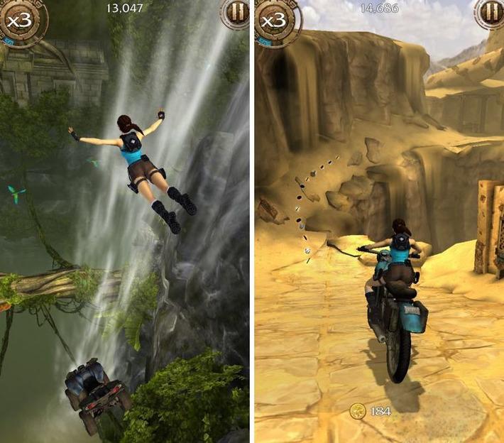 """Lara Croft : Relic Run enfin sur l'App Store !   Veille Techno et Informatique """"AutreMent""""   Scoop.it"""