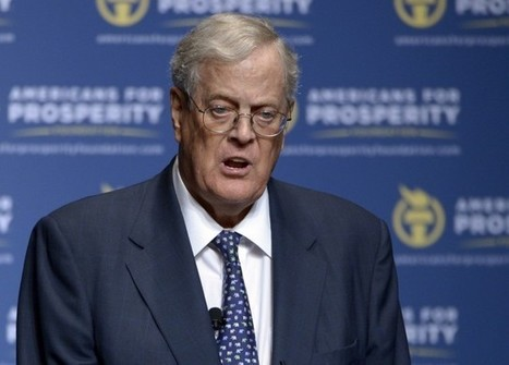 Can Koch Brothers Lock In Fatal Climate Delay For $889 Million In 2016 Election? | Sustain Our Earth | Scoop.it