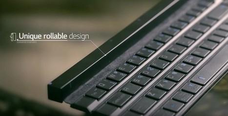LG presenta el LG Rolly Keyboard, un teclado inalámbrico que podemos enrollar | Bits on | Scoop.it