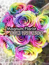 Jual Mawar Pelangi Untuk Ulang Tahun | Toko Bunga | Scoop.it