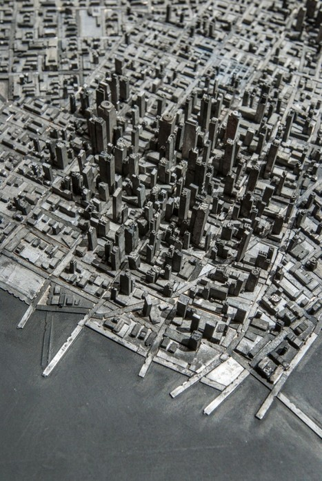 A Miniature City Built with Metal Typography | Google Plus ~≈~ G+ | Scoop.it