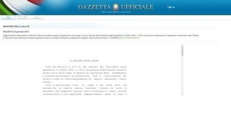 Última hora: Italia legaliza el Cannabis Medicinal | thc barcelona | Scoop.it
