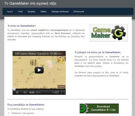 Ιστότοπος στα Ελληνικά για το GameMaker | Xaris | Scoop.it