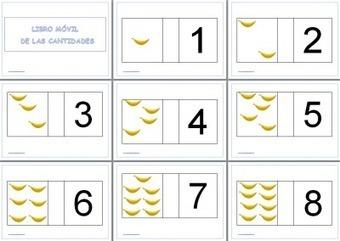 El libro movil de las cantidades cuaderno manipulativo | Mathink | Scoop.it