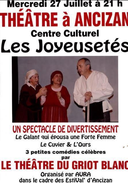 Soirée théâtre à Ancizan le 27 juillet | Les EstiVal' d'Ancizan | Vallée d'Aure - Pyrénées | Scoop.it