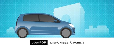 Uber to tackle urban ridesharing, launches UberPop in Paris | News | Scoop.it