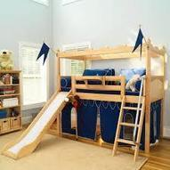 loft bed with slide - Google Search | Loft Bed with Slide | Scoop.it