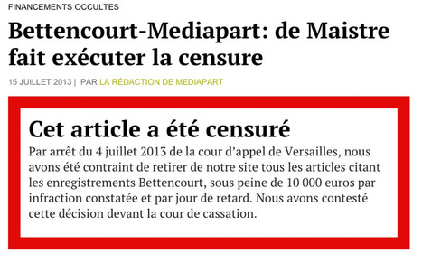 Blogueur, j'ai accordé l'asile au «Dossier Mediapart» (Bettencourt ... | Rosaelle | Scoop.it