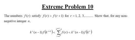 Extreme Problems - A Level Maths Resource Site | Mathematics,Science Resources And News | Scoop.it