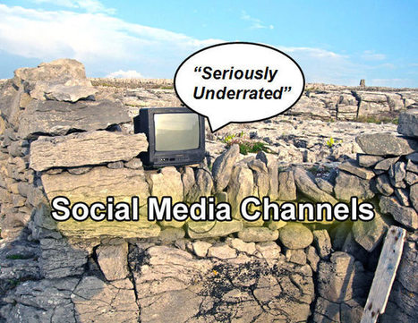 Seriously Underrated Social Media Channels To Use | Social Media | Scoop.it