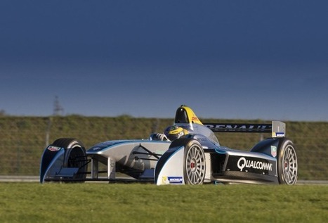 Formula E - Formula E car completes successful test debut | Interests | Scoop.it