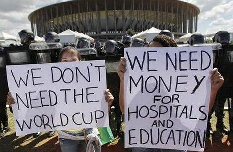 Je veux comprendre… les manifestations au Brésil | Urban planning and megaevents: Rio x JO x World Cup | Scoop.it