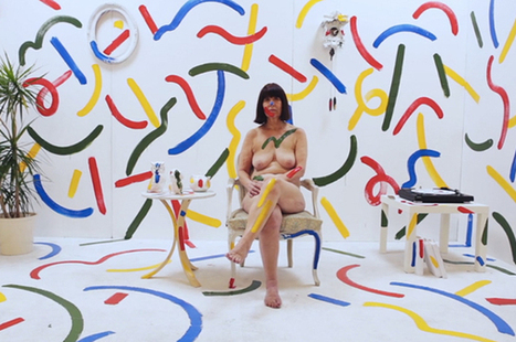 A Beautiful Explosion Of Color And Paint Strokes In This Fashion Video (NSFW) | Communication design | Scoop.it