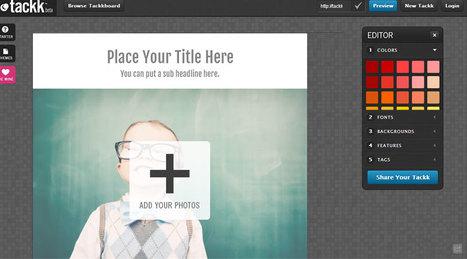 Tackk. Creer des pages web simplement | Marketing Tools | Scoop.it